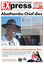 mthatha express 1 december 2016 by mthatha express issuu