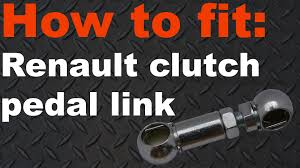 renault clio twingo kangoo clutch pedal link linkage ball joint