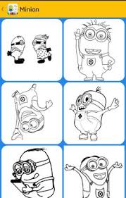 minion coloring book apk download free educational game