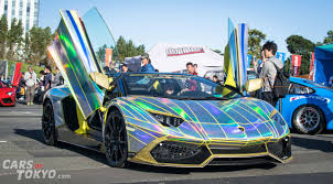 rainbow cars 20 crazy lambos in tokyo cars of tokyo part 2