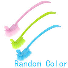 Long Handle Bathroom Cleaning Brush High Quality Plastic Long Handle Bathroom Wc Toilet Scrub Double