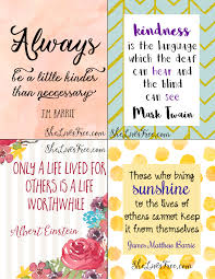 printable quotes quotes free printable quotes to inspire kindness lunch notes for kids