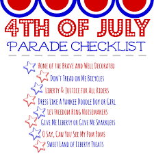 Fourth Of July Tablecloths by How To Host A 4th Of July Parade Simply Being Mommy