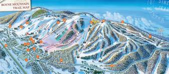 Utah Ski Resort Map by Boyne Mountain Trail Map U2022 Piste Map U2022 Panoramic Mountain Map