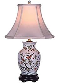 Small Accent Table Lamps Song Birds Small Accent Table Lamp Small Porcelain Base Table