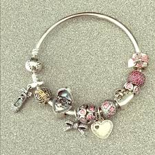 pandora bangles bracelet images Pandora jewelry bangle bracelet with 11 charms poshmark jpg
