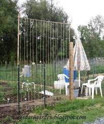 the gardener of eden trellises at the plots