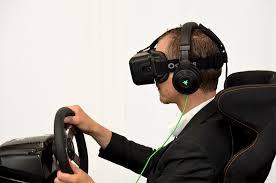 siege pour jeux des courses automobiles en réalité virtuelle