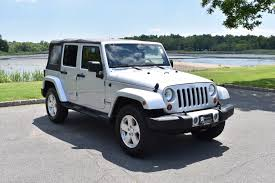 Wrangler 2009 2009 Jeep Wrangler Unlimited Sahara Navi Clean Carfax Stock