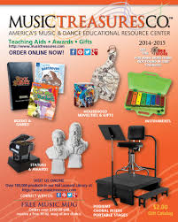 free gift catalog from treasures gifts for musicians