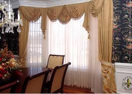 awesome design charming blue and white curtain panels next to