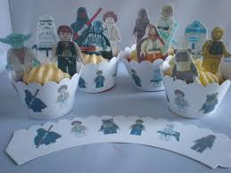 wars edible image 12 stand up lego wars edible cake toppers 12 lego wars