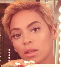 short hair styles for women with alopecia beyoncé loses hair weaves and extensions swapped for pixie crop