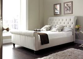king upholstered sleigh bed by a r t furniture inc wolf and nice