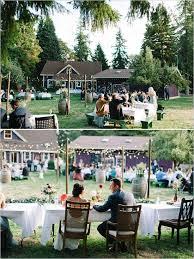 Backyard Wedding Lighting by Best 25 Backyard Wedding Receptions Ideas On Pinterest Backyard