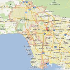 los angeles suburbs map map of los angeles and suburbs indiana map