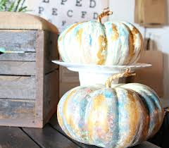 water color pumpkin technique no carve pumpkin ideas refunk my