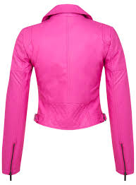 pink leather motorcycle jacket pink faux leather biker jacket miss selfridge europe