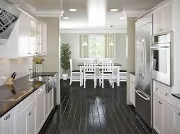 galley kitchens with island wide galley kitchen home design