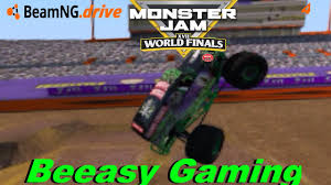 monster truck freestyle videos beamng drive world finals 16 l 6 truck freestyle youtube