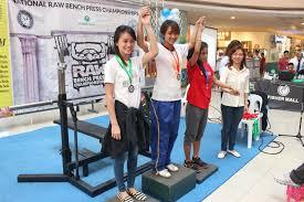 Bench Press Raw Record The 2015 Philippine Raw Bench Press Championships