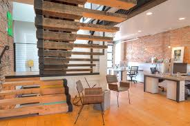 stalled wood stairs and reclaimed wood floors in washington dc