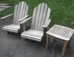 Patio Furniture Clearwater Weathered Teak Patio Furniture Outdoorlivingdecor