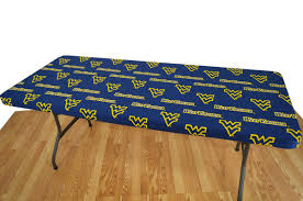 Elastic Picnic Table Covers College Covers Ncaa Table Cover U0026 Reviews Wayfair