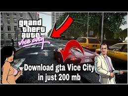 gta vice city apk data gta vice city android 200mb apk data
