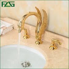 Swan Bathroom Faucet Online Get Cheap Swan Golden Aliexpress Com Alibaba Group