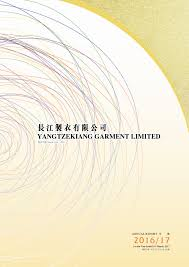 financial report cover page yangtzekiang garment limited financial reports