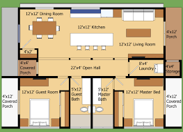 modern style house plan 2 beds 2 baths 960 sq ft plan 474 9