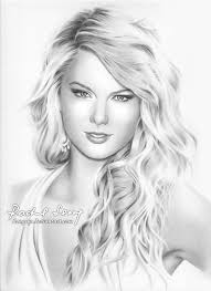taylor swift pencil sketch pencil drawing of taylor swift by hong