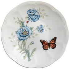 amazon com lenox butterfly meadow party plates set of 6 dinner