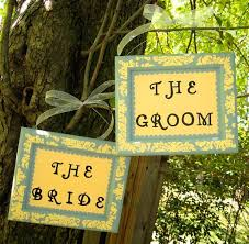 Bride And Groom Chair Signs 124 Best Bride Groom Chair Signs Images On Pinterest Marriage