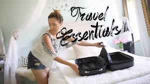 How to travel light packing essentials ann le