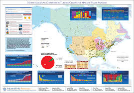 North America Wall Map by Industrial Wall Maps By Industrial Info Resources
