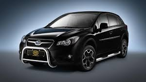 grey subaru crosstrek subaru xv front guard tuning parts to subaru