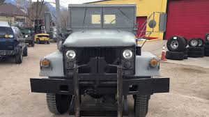 jeep kaiser 6x6 1966 kaiser 3500 deuce 1 2 youtube