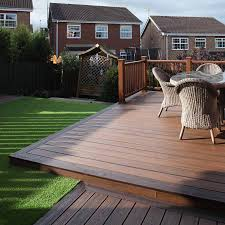 25mm x 140mm trex composite decking square board 3 66m spiced rum