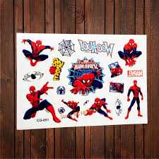 compare prices on tattoo spiderman online shopping buy low price