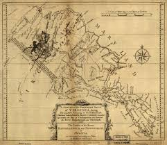 Northern Virginia Map Map Virginia 1736 1737 Northern Neck Of Virginia Goyen Family Tree