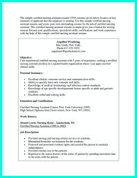 Outstanding Resume Examples Nurse Assistant Resume Sample Resume Peppapp