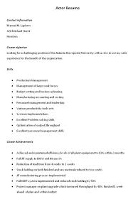 actors cover letter how to write a good cover letter more