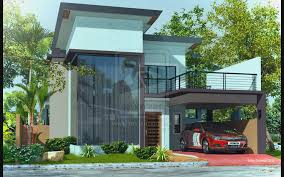 2 story house designs modern 2 storey house designs garage modern house plan
