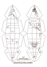 globe foldable 4th 12th grade printables u0026 template lesson planet