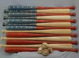 baseball bat american flag 30 inch bats