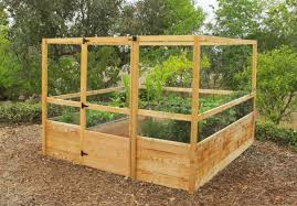 marvellous inspiration raised garden bed with fence interesting