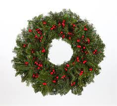 live christmas wreaths in berries real live fraser fir christmas wreath fresh cut