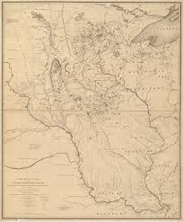 Map Of Missouri River Historical Expeditions Department Of Botany National Museum Of
